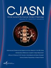 Clinical Journal of the American Society of Nephrology: 6 (9)