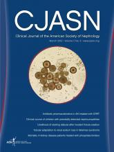 Clinical Journal of the American Society of Nephrology: 7 (3)