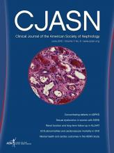 Clinical Journal of the American Society of Nephrology: 7 (6)