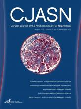 Clinical Journal of the American Society of Nephrology: 7 (8)