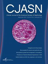 Clinical Journal of the American Society of Nephrology: 8 (9)