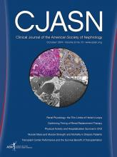 Clinical Journal of the American Society of Nephrology: 9 (10)