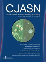 Clinical Journal of the American Society of Nephrology: 9 (12)