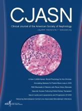Clinical Journal of the American Society of Nephrology: 9 (7)